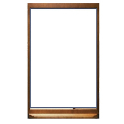 "Glass Patient Dry Erase Board - 24""W x 36""H, 26196"