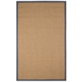 Sisal Rug with Contrast Border - 8'W x 5'D, 54009