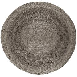 Round Natural Jute Rug - 8' DIA, 54012