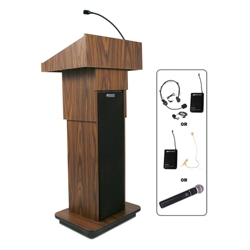 Adjustable Height Wireless Lectern, 43299