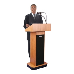Floor Lectern with Sound, 43320