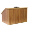 Portable Folding Tabletop Lectern, 43321