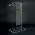 Wing Style Acrylic Lectern, 43323