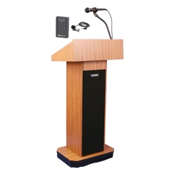 Wireless Full Height Lectern, 43328