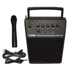 Wireless Rechargeable PA System, 43349