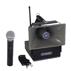 50W Wireless Handheld Hailer PA System, 43352