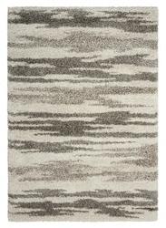 "Zebra Print Shag Area Rug 3'11""W x 5'11""D, 91616"
