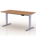 "Compact Sit-to-Stand Height Adjustable Desk - 48""W x 30""D, 14135"