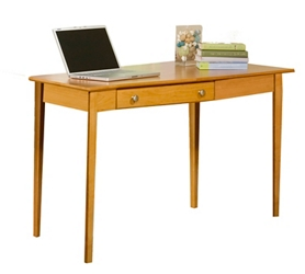 "Solid Wood Desk with Right Wedge - 56""W, 16048"