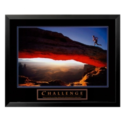 Challenge Motivational Print, 91862