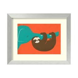Let's Hang by Fleck - Framed Art Print, 82703
