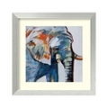Mr Silver Hair Elephant by Maritz - Framed Art Print, 82711
