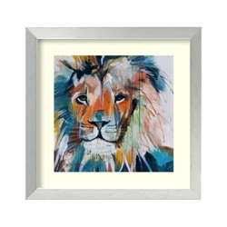 Lion's Share by Maritz - Framed Art Print, 82712
