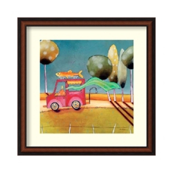 Daily Catch by Dynan - Framed Art Print, 82682