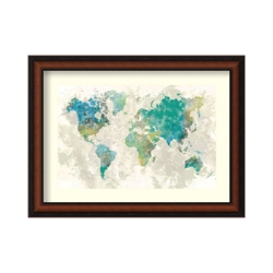 No Borders by Fontaine - Framed Art Print, 82714