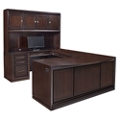 Right U-Desk with Hutch, 14359