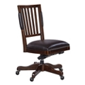 Armless Bonded Leather Computer Chair, 55032