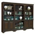"Fifteen Shelf Bookcase Wall - 77.5""H, 32229"