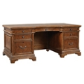 "Curved Starburst Veneer Executive Desk - 72""W, 10496"
