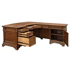 "Executive L- Desk - 66""W, 10513"