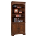 "Six Shelf Bookcase with Doors - 79""H, 32189"