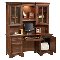 """Traditional Credenza and Hutch- 66""""W, 10509"""