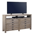 "Solid Wood Console - 65""W, 43501"
