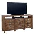 "Solid Wood Console - 75""W, 43503"