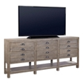 "Solid Wood Console - 93""W, 43504"