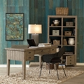 Solid Wood Writing Desk and Room Divider Set, 10497