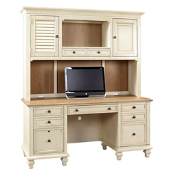 "Two Tone Hutch for Credenza - 67.5""W, 36913"