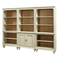 "Two Tone Bookcase Wall - 72""H, 32227"