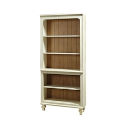 """Two Tone Bookcase - 72""""H, 32198"""