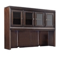 "Hutch with Interchangeable Door Panels - 66""W , 14810"