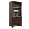 "Four Shelf Bookcase with Lower Doors - 78""H, 32207"