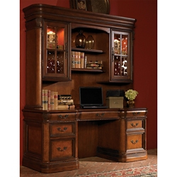 "Rope Twist Detail Credenza and Hutch- 72""W, 10562"