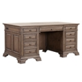 "Double Pedestal Executive Desk - 72.5""W, 14413"