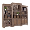 "Three Piece Bookcase Wall - 103.75""W, 14416"