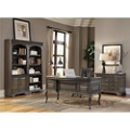 Half Pedestal Bowfront Desk Office Suite, 14420