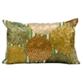 "kathy ireland by Nourison Metallic Rectangular Accent Pillow - 20""W x 12""H, 82164"