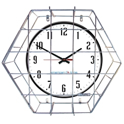 """Wall Clock with Battery Booster - 15"""", 92208"""