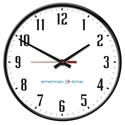 """Wall Clock with Battery Booster - 18"""", 92111"""