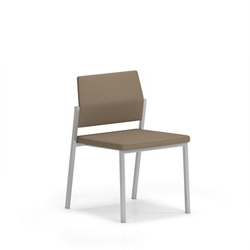 Upholstered Armless Guest Chair, 76636