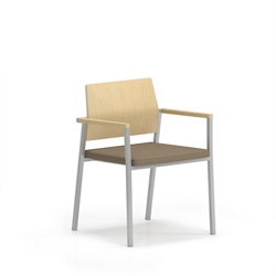 Laminate Back Guest Chair, 76638