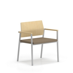 Laminate Back Oversize Chair, 76650