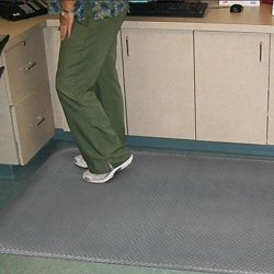 """Anti-Fatigue Floor Mat with Beveled Edges - 34"""" x 60"""", 54031"""