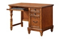 "Compact Single Pedestal Desk - 47""W x 24""D, 14691"