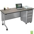 "Adjustable Computer Desk - 60""W x 24""D, 11358"