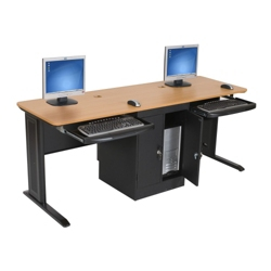 "Dual Computer Workstation - 72""W, 13450"