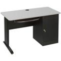 Computer Desk with Locking CPU Cabinet, 13451